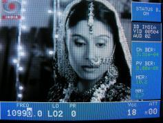 10 990 V DD India Insat 4B at 93.5E KU band wallpaper 4