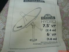 INSTALLATION and ASSEMBLY INSTRUCTION 180 cm Paraclypse Prime Focus Dish nr1