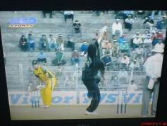 TV NEO SPORTS 11 670 MHz H pol from PAY TV TATA SKY INDIA Insat 4A at 83E KU band