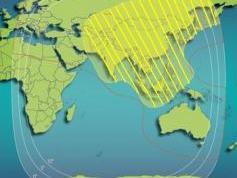 Insat 2E 83ec zone beam