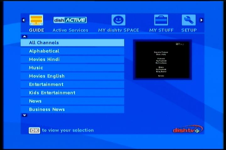 NSS 6 at 95 0°E-Indian beam : Dish TV DTH OFFICIAL HDTV