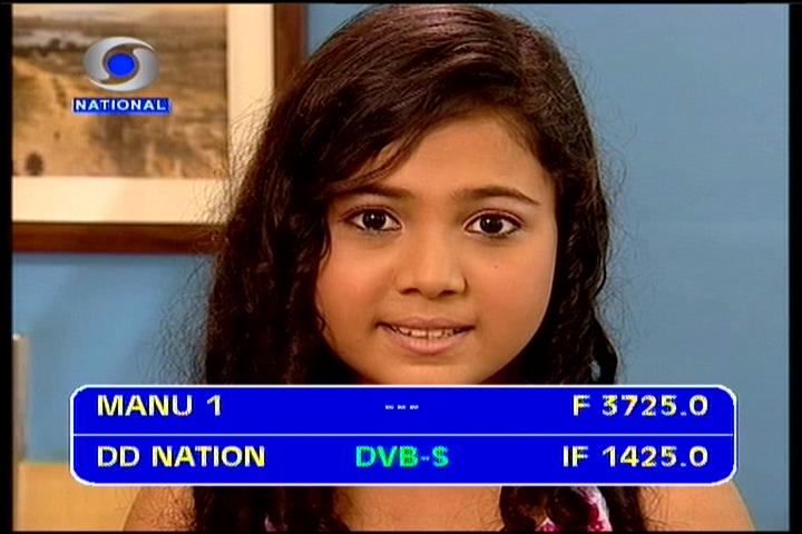 Insat 3A/4B at 93.5°E-Asia-Europe wide beam : DD Doordarshan ...