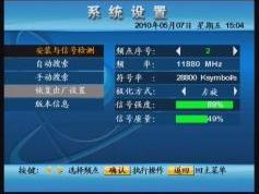 Chinasat 9 at 92.2e _footprint in KU band_ ABS S receiver Coship N6188 menu_01