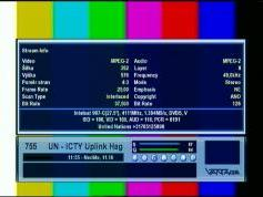 Intelsat 907 at 27.5 w _ North East zone footprint _ 4 111 LC feed  United Nations UN ICTY uplink Hague _ 03