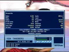 11 486 V DVB-S2 MPEG 4 feed Tandberg Intelsat 904 at 60.0E  03.