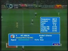 AIT ABUJA Nigeria Intelsat 901 at 18W  01
