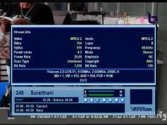 feeds 4 135 H NBT Suratthani Thaicom 2 at 78.5E Regional beam  03
