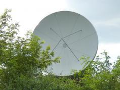 Measat 3 at 91.5 e-south asia beam-Reliance Digital TV-PF Prodelin 3.7 m