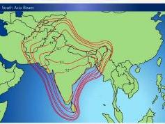 Measat 3 at 91.5 e-south asia beam-Reliance Digital TV-footprint w