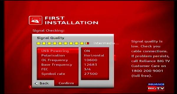 Measat 3 at 91.5 e-south asia beam-Reliance Digital TV-first installation-01n