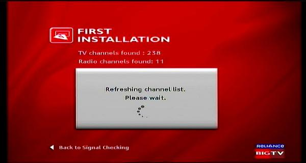 Measat 3 at 91.5 e-south asia beam-Reliance Digital TV-first installation-03n