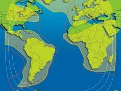 NSS 5 at 5.0 e _ east hemi footprint and global footprint _
