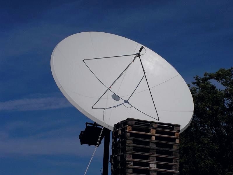 Arabsat 2B at 30.5 e _ KU footprint _PF Prodelin 3.7 m