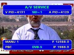 Arabsat 2B at 30.5 e _ KU footprint _12 588 H PBC Channel _ VA pids