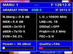 Arabsat 2B at 30.5 e _ KU footprint _12 612 H Arabsat Promo _ Q data
