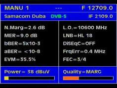 Arabsat 2B at 30.5 e _ KU footprint _12 709 V feed Samacom Dubai _ Q data
