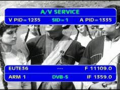 Eutelsat Sesat at 36.0 e _ 11 109 V Armenia 1 TV _ VA pids