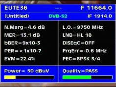 Eutelsat Sesat at 36.0 e _ 11 664 H DVB S2 SET Africa _ Q data