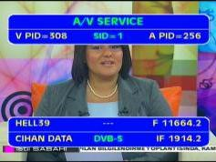 Hellas Sat 2 at 39.0 E _ 11 664 H feed Cihan _ VA pids data