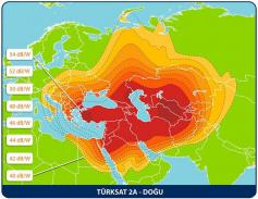 Turksat 2A 42E East beam