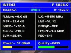 Intelsat 11 at 43.0 w_C band_Americas Europe footprint _ 3 828 V Teletica _ Q data
