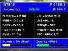 Intelsat 11 at 43.0 w_C band_Americas Europe footprint _ 4 180 H DVB S2 8PSK Unicanal _ Q data