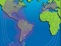 Intelsat 11 at 43.0 w_C band_Americas Europe footprint