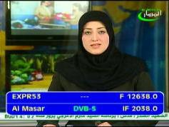 Express AM22 at 53.0 e-12 638 H Al Masar TV-IF data