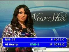 NSS 12 at 57.0 e _ global footprint _ 4 072 L MPEG 4 feed Al Hurra _ IF data
