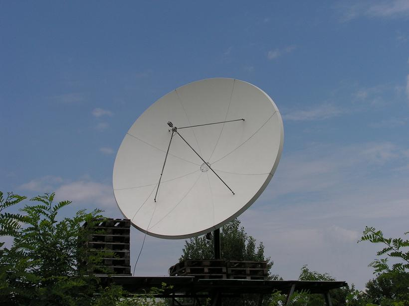 PF Prodelin 3.7m at Eutelsat W5  70.5E  KU
