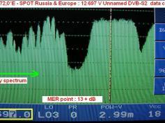 12 697 V Unnamed Data carrier TP 8 spectral status