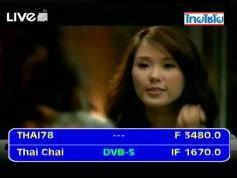 Thaicom 5 at 78.5 e-global beam-3 480 H Thai Ch-IF data