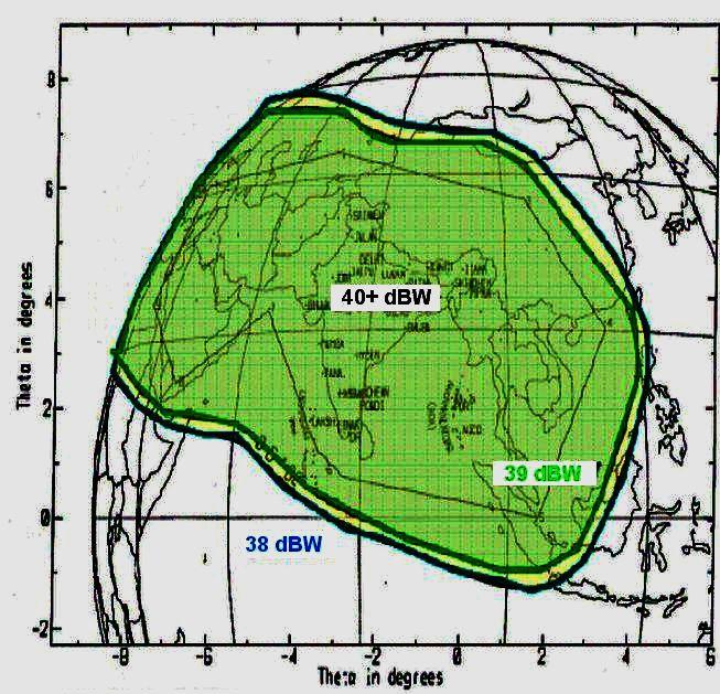 Insat 3A at 93.5°E - 3A wide footprint : spectral analysis ...