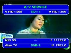 NSS 6 at 95.0e-middle east beam-11 132 V Alau tv-IF data