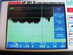 Intelsat 4 at 72.0E North East Asia footprint 12 656 H Packet RR Sat Global  02