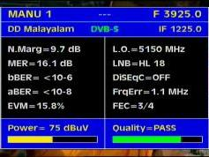 Insat 3A 4B at 93.5 e _ 4B footprint _ 3 925 H Packet DD Doordarshan_Q data