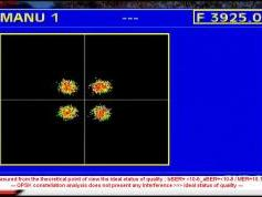 Insat 3A 4B at 93.5 e _ 4B footprint _ 3 925 H Packet DD Doordarshan_QPSK constellation data