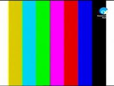 testcard 11 489 V Kazakhstan Aktau Intelsat 704 at 66.0E
