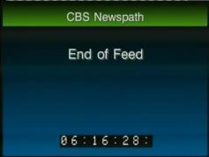 info card CBS Newspath New York 11 169 H Eut W2 at 16E