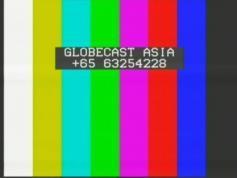 test card Globecast Asia 3681 H Telstar 10 at 76.5E
