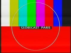 testcard Globecast paris Eut W3A 7E