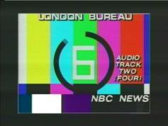 testcard NBC News London TP 14 Telstar 12 at 15W