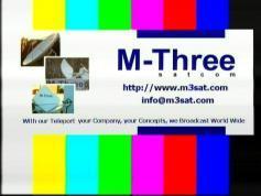 testcard SATCOM MThree Eurobird 9 9E