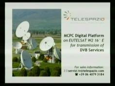 testcard Telespazio Eut W2 16e