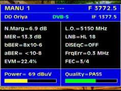 Insat 3A at 93.5 e-3 772 V DD Oriya India-Q data