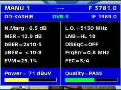 Insat 3A at 93.5 e-3 781 V DD Kashir  India-Q data