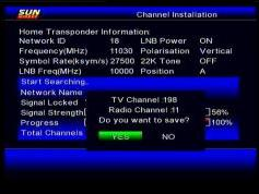 Insat 4B at 93.5 e_SUN Direct dth_DVB-S2-MPEG-4-HD Samsung DSB-B580R menu_ch instal_14