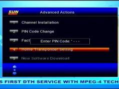 Insat 4B at 93.5 e_SUN Direct dth_DVB-S2-MPEG-4-HD Samsung DSB-B580R menu_tp setting_16